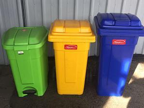 Баки пищевые и мусорные