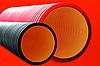 DKC Труба жесткая двустенная для кабельной канализации (10 кПа)д125мм длина 5,70м. ,цвет черный