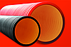 DKC Труба жесткая двустенная для кабельной канализации (6кПа) д160мм,цвет красный