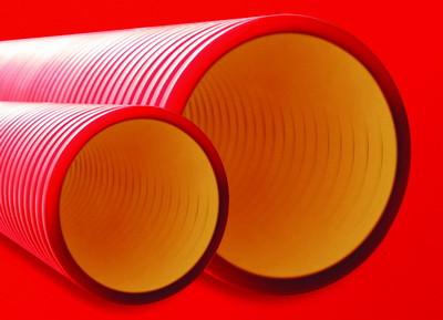 DKC Труба жесткая двустенная для кабельной канализации (8кПа) д160мм, длина 5,70м. ,цвет черный - фото 4