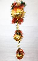 Гирлянда-шарик, золото, D 15 см, фото 1