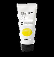 Tonymoly Clean Dew Foam Cleanser Lemon Пенка для умывания лица с экстрактом лимона 180 мл