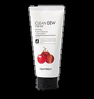 Tony Moly Clean Dew Acerola Foam Cleanser Пенка для умывания с экстрактом барбадосской вишни 180 мл