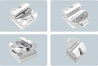 Брекеты керамические самолигирующие с метал.пазом 0,22 с хуком3,4,5 верх
