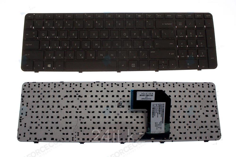 Клавиатура для ноутбука HP Pavilion G7-2000, RU, черная, без рамки