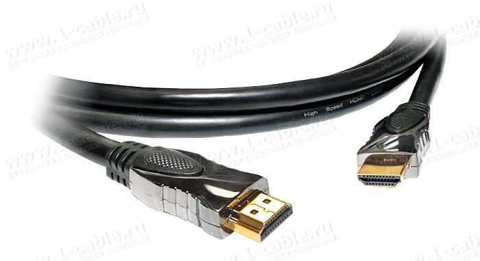 HDMIXL5-MM-.. Кабель HDMI для удаленных источников с Fast Ethernet, серия XL5, металлический корпус разъема, штекер (тип A) > штекер (тип A)