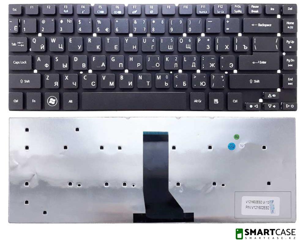 Клавиатура для ноутбука Acer Aspire 6830T (черная, RU)