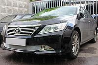 Защита радиатора Toyota Camry XV50 2011-2014 chrome OPTIMAL