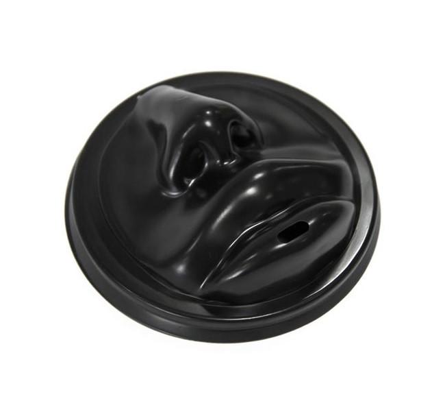Крышка d90 Coffee Kiss для гор. напитков, черная