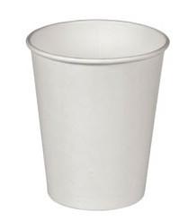 Стакан бумажный Белый для гор. напитков, 250мл