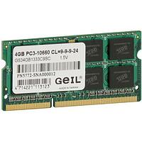 Оперативная память  для ноутбука  GEIL PC3 10660 GS34GB1333C9S