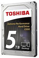 """Внутренний жесткий диск Toshiba X300 5TB SATA 3.5"""" 7200RPM 128Mb (5 Тб, 3.5 дюйма, SATA, HDD  HDWE150EZSTA"""