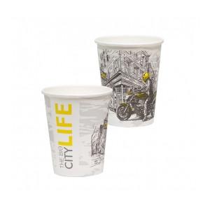 Стакан бумажный Big City Life для гор. напитков, 250мл