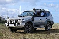 Toyota Prado 90 и 95 серии. Дизель 3.0 шноркель- T4