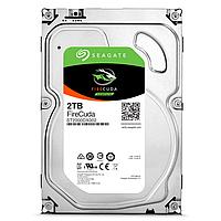 Жесткий диск внутренний Seagate FireCuda  ST2000DX002 (2Тб (2000Гб), SSHD, 3,5″, Для компьютеров, SATA)