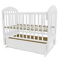 Детская кроватка Топотушки Дарина 6 белая, фото 1