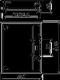 OBO BETTERMANN ЛЮЧОК GES6-2U УНИВЕРСАЛЬНЫЙ (9 МОДУЛЕЙ MODUL 45) СЕРЫЙ, фото 3