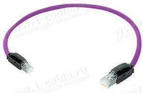 1K-RRC5F-1..G Кабель коммутационный, Graded-Patch, повышенная надежность, Ethernet, категория 5e S/UTP, RJ45 штекер > RJ45 штекер, 100 МГц