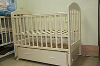 Детская кроватка Топотушки Дарина 6 слоновая кость, фото 1