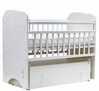 Детская кроватка Топотушки Софья Облака Белая