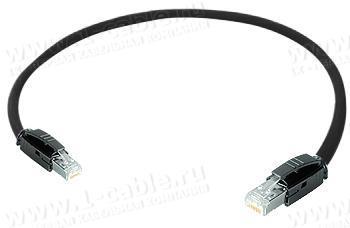 1K-ETHC5F-1..G Кабель коммутационный, Graded-Patch, повышенной надежности, Ethernet, категория 5e SF/UTP, RJ45 штекер > RJ45 штекер, 100 МГц