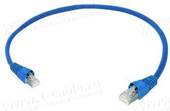 1K-ETHC5F-1.. Кабель коммутационный патч, Ethernet, категория 5e FTP, RJ45 штекер > RJ45 штекер, 100 МГц