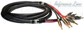 1K-AR86-1. Акустический кабель Bi-Wiring, REFERENCE Line, 4x Banana > 4x Banana