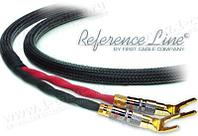 1K-AR75-1. Акустический кабель, REFERENCE Line, Spade > Spade (тип-лопатка)