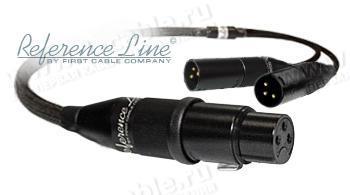 1K-AR13-0.. Межблочный балансный аудио кабель, для паралельного подключения (Bi-Amping), REFERENCE Line, XLR гнездо >2х XLR штекер
