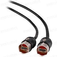 NKHDMI-. Кабель HDMI с защищенными разъемами IP65, для мобильного применения, штекер (тип A) > штекер (тип A)