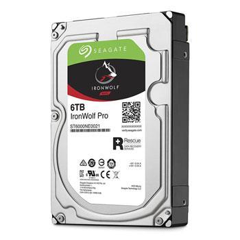 Жесткий диск для NAS систем 6Tb HDD Seagate IronWolf PRO, ST6000NE0021