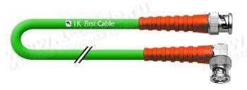 1K-VD10-1.. Кабель видео цифровой SDI/HDTV, серия Standart, 75 Ом BNC штекер > BNC штекер угловой