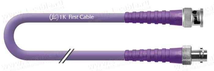 1K-VDFS7-1.. Кабель видео цифровой SDI/HDTV, серия Flex Standart, 75 Ом BNC штекер > BNC гнездо