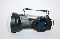 Аккумуляторный фонарь с солнечной панелью KC-9980T