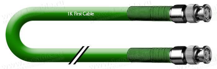 1K-VDIN1-.. Кабель видео цифровой SDI/HDTV, серия Install, 75 Ом BNC штекер > BNC штекер