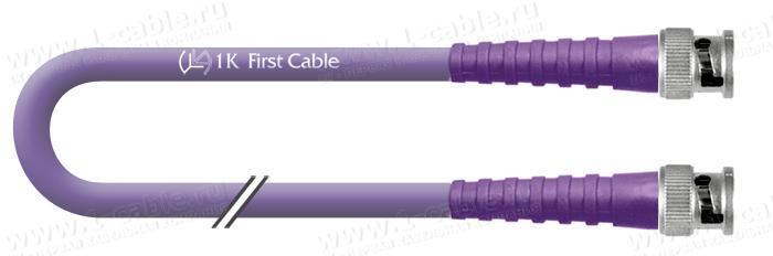 1K-VDFS1-1.. Кабель видео цифровой SDI/HDTV, серия Flex Standart, 75 Ом BNC штекер > BNC штекер