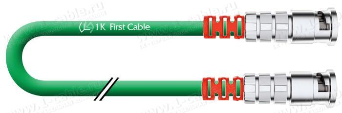 1K-IVD1-1.. Кабель видео цифровой SDI/HDTV, серия Mobile, 75 Ом, BNC EasyGrip HD3 штекер > BNC EasyGrip HD3 штекер