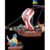 """Конструктор SLUBAN """"Пиратская серия"""" 226 деталей"""
