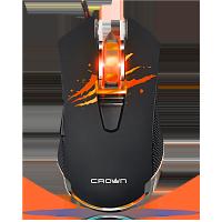 Проводная  USB мышь, игровая. CROWN MICRO CMXG-614