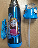Термос детский с трубочкой, фото 5