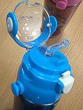 Термос детский с трубочкой, фото 3