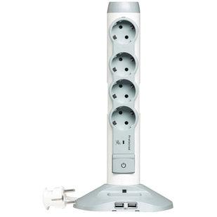 Башня 4 х 2К+З + 2 х USB + 1 х MicroUSB