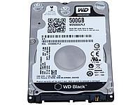 """Жесткий диск для ноутбука WD 500Gb Black 32Mb 2,5"""" SATA,  WD5000LPLX"""
