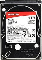 Жёсткий диск для ноутбука, Toshiba L200, HDWJ110EZSTA, HDD 1Тb, 9.5 mm, SATA II