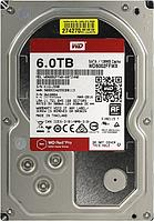 Жесткий диск для ЦОД и горизонтально масштабируемых архитектур с HDD 6 Tb Western Digital Red Pro, WD6002FFWX