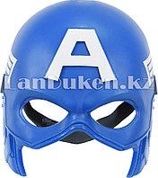 Маска на пол лица Капитан Америка