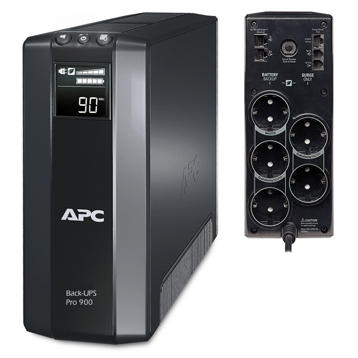 ИБП APC/BR900G-RS/Back Pro/Line Interactiv/AVR/Schuko/900 VА/540 W