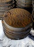 Люк чугунный, Тип С, круглый, ГОСТ 3634-99 нагрузка 12,5 тонны, фото 2