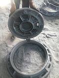 Люк чугунный, Тип Т с шарниром и замком , ГОСТ 3634-99,нагрузка 25 тн, фото 2