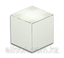 Стеклянный кубик. Для УФ - склеивания.